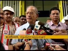E Sreedharan and DMRC won't be available for second phase construction of Kochi Metro