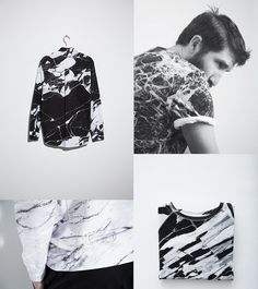 BLACK MARBLE INSPIRATION Voo Store http://www.vooberlin.com/playtype-soulland-camilla-shirt