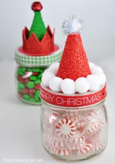 Utiliza frascos de vidrio para crear detalles inolvidables esta Navidad. Úsalos para empacar pequeños obsequios como dulces o caramelos de manera vistosa y creativa. Una forma original y diferente es llenar el frasco con cocoa en polvo. Puedes agregar una cuchara como detalle extra. Aquí encontrarás varias manualidades fáciles de hacer que son maravillosos regalos …