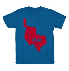 Republic of Texas 1836 - Youth T-shirt (2 Color Options)