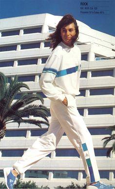1986 - Enter the timeline >> http://www.lecoqsportif.com/survetement/uk-en #tracksuit #retro #apparel