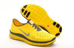 lowest price f1cfd 2a933 2013 New Cheap Nike Free Run Womens Shoes Olympic Running For Sale Yellow  Grey
