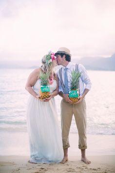 Couple ananas