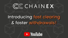 Have you seen our YouTube video on how to withdraw faster on ChainEX? 🚀🚀 Watch it now! 🔗🔗🔗🔗 #chainex #chainexroadto200k #youtube #content #bitcoin #btc #eth #zar #ethereum #tesla #crypto #cryptocurrency Buy Bitcoin, Cryptocurrency, Youtubers, African, Branding, Brand Management, Identity Branding
