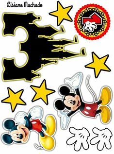 Mickie Mouse Cake, Minnie Mouse Cake Topper, Mickey Mouse House, D N Angel, Mickey Mouse Birthday Decorations, Bolo Mickey, Birthday Messages, Birthday Cake Toppers, How To Make Cake