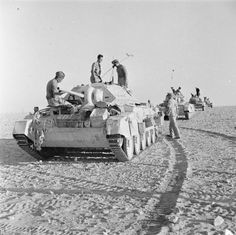 Crusader tanks returning to camp after being on patrol in the Western Desert, 28 August Crusader Tank, British Tanks, British Army, North African Campaign, Ww2 Photos, Armored Fighting Vehicle, Ww2 Tanks, Army Soldier, Armored Vehicles
