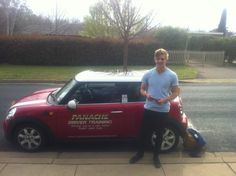 Would like to say congrats to Liam for passing his comp 22 in the Mini Cooper Chilli! Good work see on the defensive course:) www.panachedrivertraining.com