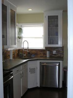 1940 Kitchen Designs | 1940?s Kitchen Remodel Using Original Cabinets.   Kitchen  Designs