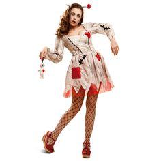 Disfraz de Muñeca Vudú #halloween #disfraces