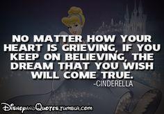 Cinderella dreaming quote