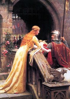 Alith asking her brother one last time not to follow the sheriff of Nottingham