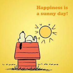Sunshine Snoopy!