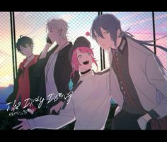 The dirty dawg Anime Boys, Cute Anime Boy, Neue Animes, Korean Painting, Rap Battle, Otaku, Cute Characters, Drawing Reference, Division
