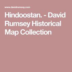 Hindoostan. - David Rumsey Historical Map Collection