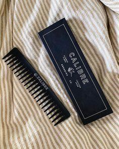 Everyday essential // Our texture comb is made of a specialised carbon fibre to help minimise static electricity and hair breakage. The wide tooth design of our comb works to detangle and add definition to your hair. ⠀ ⠀ Minimal design, maximum result.⠀ ⠀  Hit the link in our bio to grab some useful grooming tips, or to shop now.⠀ ⠀ 🖤 @calibregrooming⠀ ⠀ www.calibregroomingco.com Static Electricity, Hair Breakage, Men's Grooming, Minimal Design, Carbon Fiber, Tooth, Your Hair, Shop Now, Texture