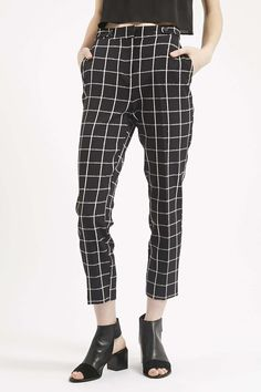 Photo 3 of Checked Cigarette Trousers