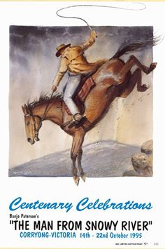 Here is a list of the top 10 most iconic Banjo Paterson ballads. Description from australiangeographic.com.au. I searched for this on bing.com/images Australia For Kids, Man From Snowy River, Coral Castle, Horse Movies, Wild Child, Western Art, Banjo, Cattle, Kids Playing