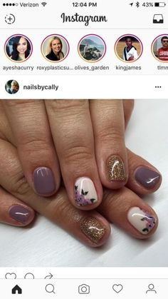 86 Simple Acrylic Nail Design Ideas For Short Nails For Summer 2018 , ongles # Get Nails, Fancy Nails, Love Nails, Trendy Nails, Simple Acrylic Nails, Acrylic Nail Designs, Nail Art Designs, Nails Design, Simple Nails