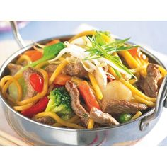 Beef and noodle stir-fry recipe - By recipes+