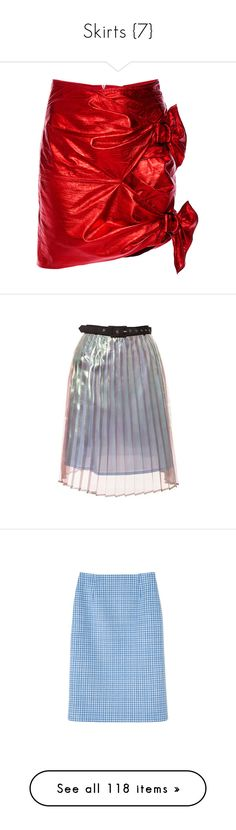 """""""Skirts {7}"""" by delamole ❤ liked on Polyvore featuring skirts, mini skirts, bottoms, isabel marant, slimming skirts, baby doll skirt, leather mini skirt, red mini skirt, short mini skirts and antipodium"""