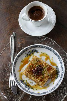 Turkish sweet you have never heard of: nevzine, sinful sinful Turkish shortbread sweet