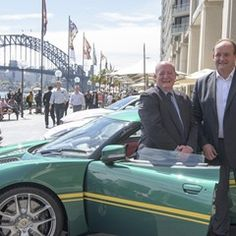 MotorWorld Sydney is launched at Sydney Harbour today