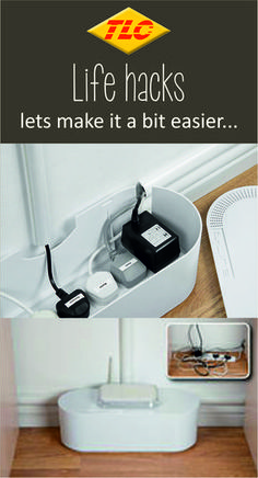 Hide cable clutter in your home or office with these fantastic cable tidy boxes. They are ideal to hide TV cables, Computer wires, and Gaming cables, and hide Socket Extension Blocks too... wherever there is cable clutter!