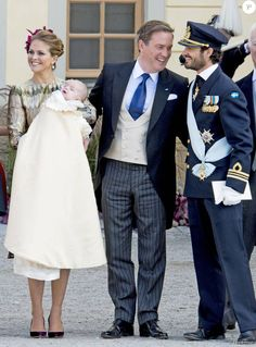 Baptism of Prince Nicolas at the Royal Chapel in Drottningholm Palace on October 11, 2015
