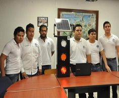 #EDUCATION #SWD #GREEN2STAY Students create prototype that uses solar traffic light - See more at: http://www.oem.com.mx/elsoldemexico/notas/n3666190.htm#sthash.gLaicuwP.dpuf