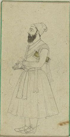Portrait of Mahabat Khan II or III?