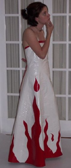 duct tape prom dress photos