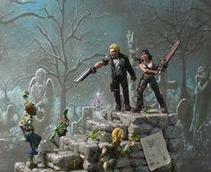 zombie diorama - Google Search