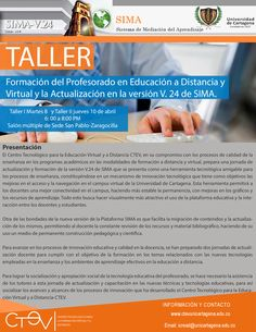 Taller de formación del profesorado y actualización de la versión V24 de SIMA