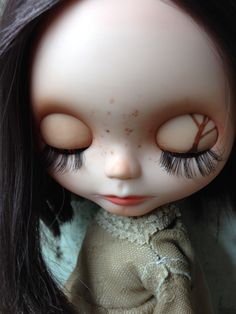 Willow, my 2nd custom blythe. Sleepy Eyes