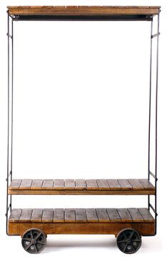 Almira Rolling Garment Rack industrial clothes racks