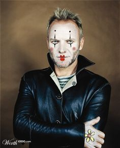 Sting Mime - Double pin for me!!  lol