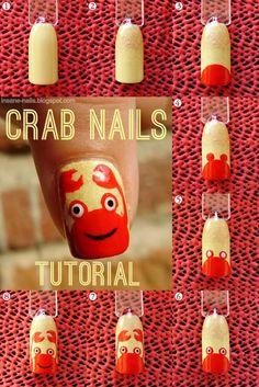 TUTORIAL UNHAS DECORADAS COM CARANGUEIJO