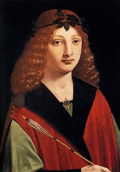 Gian Galeazzo II. Maria Sforza, Duke of Milan by Leonardo da Vinci, c. 1483