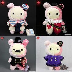 San-X Sentimental Circus Shappo plush dolls in MakManShop