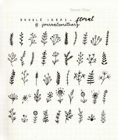 Drawing Doodles Ideas 200 Doodle Ideas To try In Your Bullet Journal/ Decorate your Bujo with these doodles. From cute cactus doodles, to sea life, to cute little food. Dress up your Bullet Journal! Bullet Journal Ideas Pages, Bullet Journal Inspiration, Journal Pages, Bullet Journals, Journal Fonts, Doodle Inspiration, Bullet Journal Number Fonts, Bullet Journal Design Ideas, Doodling Journal