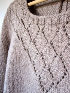 Le petit monde de FlavieB: Pull (presque) Sessùn - Knitting Sweater