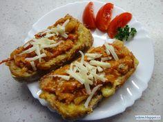 Pesto, Baked Potato, Tacos, Food And Drink, Potatoes, Baking, Ethnic Recipes, Dip, Blog