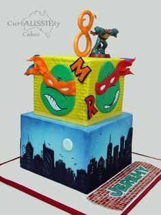 Icing Smiles Ninja Turtles cake - Cake by curiAUSSIEty custom cakes