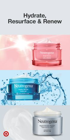 Give your face an instant refresh with Neutrogena skin care products. They repair & moisturize skin, leaving it looking younger and wide awake. Add them to your daily skin care routine. Shop now at Target. Beauty Care, Beauty Skin, Neutrogena Skin Care, Clear Skin Tips, Best Skincare Products, Wide Awake, Healthy Skin Care, Face Skin Care, Peeling