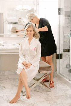 Monogrammed robes for you and your bridesmaids from Wedding Prep Gals! #wchappyhour http://www.weddingprepgals.com
