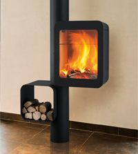 Wall Mounted Fireplaces - CFD sells numerous styles and designs of the modern and contemporary fireplace creations. Wall Mounted Fireplace, Freestanding Fireplace, Custom Fireplace, Stove Fireplace, Modern Fireplace, Fireplace Design, Welded Furniture, Fire Pit Designs, O Gas