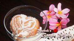 Hridoyhoron Pitha is heart shape Pakon pitha soaked in evaporated milk. It is beautiful pitha with great taste. Bangla Recipe, Desi Food, Evaporated Milk, Heart Shapes, Pudding, Sweets, Bongs, Food Food, Desserts