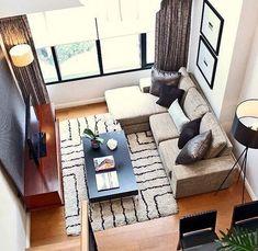 30 ideas for small living rooms! / 30 ideas para salas/salones pequeños!