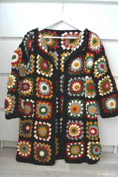 – Knitting patterns, knitting designs, knitting for beginners. Crochet Poncho Patterns, Crochet Coat, Granny Square Crochet Pattern, Crochet Jacket, Crochet Squares, Crochet Cardigan, Baby Knitting Patterns, Crochet Shawl, Crochet Clothes