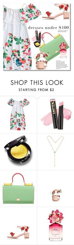 """""""Untitled #2633"""" by svijetlana ❤ liked on Polyvore featuring L.A. Girl, Dolce&Gabbana and Marc Jacobs"""